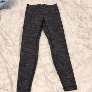 Lululemon gray ankle leggings
